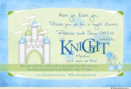 prince baby shower invitation royal castle crown regal