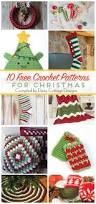 christmas crochet patterns daisy cottage designs