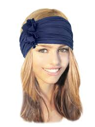 headbands for hair thinning navy blue headband wide stretch chunky headbands hair bands