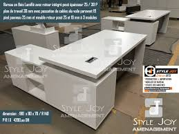 plan de bureau en bois n 1 en mobilier bureau rabat casablanca deco inovation meuble rabat