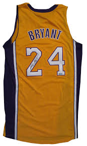 bryant autographed lakers jersey from powers autographs