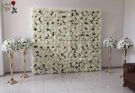 wedding backdrop of flowers spr free shipping penoy hydrangea flower wall wedding