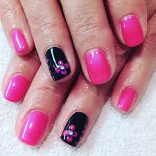 25 best ideas about dark pink nails on pinterest purple nail pink