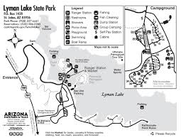 Arizona Maps by Maps Lyman Lake State Park