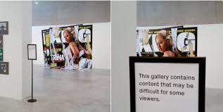 display art art and culture censorship timeline