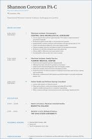 physician assistant resume template physician assistant resumes globish me