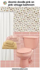 Bed Bath Decorating Ideas by 13 Ideas To Decorate An All Pink Tile Bathroom Retro Renovation