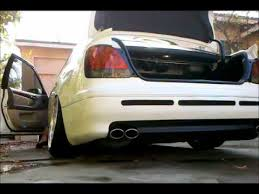 lexus gs300 exhaust gs300 custom cat back exhaust with cut out