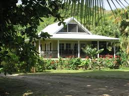 plantation style home beautiful plumeria cottage anini plan vrbo
