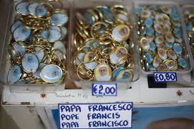 pope francis souvenirs pope francis i merchandise already available zimbio