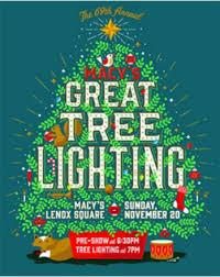 lenox tree lighting 2017 macy s 69th annual great tree lighting at macy s at lenox square