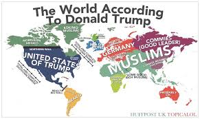 united states of islam map 2016 map of the world according to donald