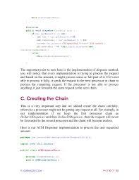 dispense java java design patterns a programmer s approach