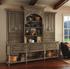 mallory cherry hutch with yorktowne cabinetry sycamore kitchens