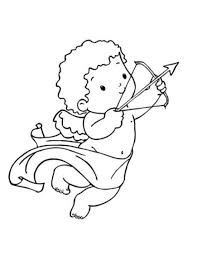 cupid valentine coloring pages valentine coloring pages of