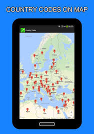 country codes international android apps on google play