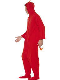 halloween devil costumes devil onesie jumpsuit mens halloween fancy dress sinners