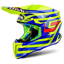 yellow motocross helmets dirtbikebitz 2018 airoh twist motocross helmet tony cairoli