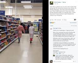 tesco womens boots uk two traveller shamed for shopping in tesco in their