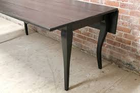 rectangular drop leaf dining table stylish rectangular drop leaf dining table black wash drop leaf