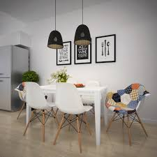 scandinavian apartment designs by style patchwork dining chair scandinavian apartment