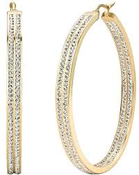large earrings jstyle women s stainless steel pierced large hoop