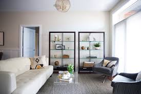 luxe minimalism in a small chicago apartment front main