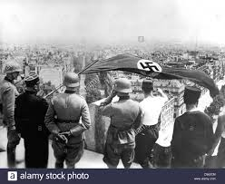 The Germany Flag World War 2 German Occupation Of Paris June 1940 The German Flag