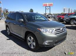 2013 toyota highlander limited for sale 2013 toyota highlander limited 4wd in cypress green pearl 178280