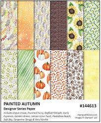 unexpected color combinations for fall u2013 stamp with brian