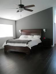 gray bedroom wall paint color decoration ideas in modern style