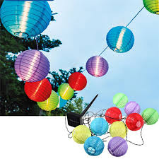 led lantern string lights multicolor garden path solar power lantern string lights led lantern