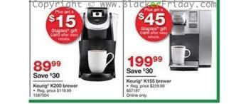 staples black friday online keurig black friday 2017 sale u0026 k cup coffee brewer deals