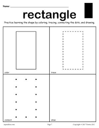 free circle worksheet color trace connect u0026 draw