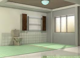 How Much Does It Cost To Rebuild A Bathroom How To Remodel Your Bathroom On A Budget 8 Steps With Pictures
