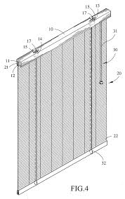 patent us20080110581 safety mechanism for window blind google