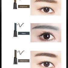 light grey eyebrow pencil wholesale korea double end eye brow pencil cosmetic art waterproof