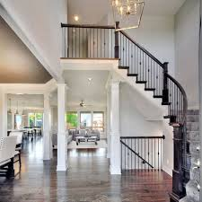 Home Interior Image Stair Open Timber Staircase Southton Northtimber Stair