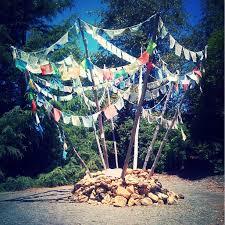 County Flags Quarryhill Botanical Garden Sonoma County California Tibetan