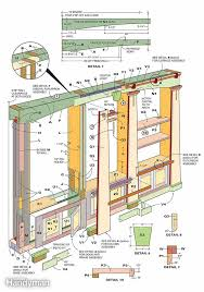 Woodworking Plans Rotating Bookshelf by Built In Bookcases Construction Woodworking And Craftsman