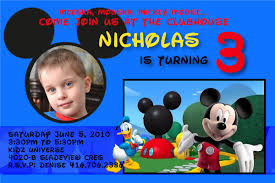 mickey mouse clubhouse birthday invites mickey mouse photo birthday invitations dolanpedia invitations ideas