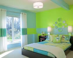 home design bedroom paint color shade ideas blue and green
