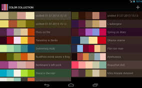 color collection palettes android apps on google play