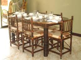 bamboo dining room table beautiful bamboo dining room set pictures mywhataburlyweek com