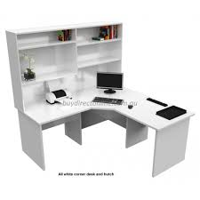 White Office Desk With Hutch Office Corner Desk With Hutch Corner Workstation Home Desk White