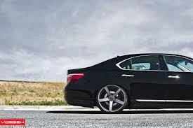lexus ls video vossen wheels lexus ls vossen cv3r