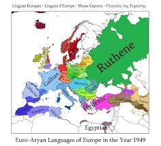 Alternate History Maps Alternate History Map Old Indo European Europe By Banananaise