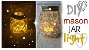 solar light crafts diy mason jar light easy craft idea youtube