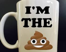 poop emoji coffee etsy