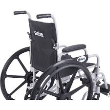 Drive Wheel Chair Poly Fly Lightweight Wheelchair Transport Chair Combo